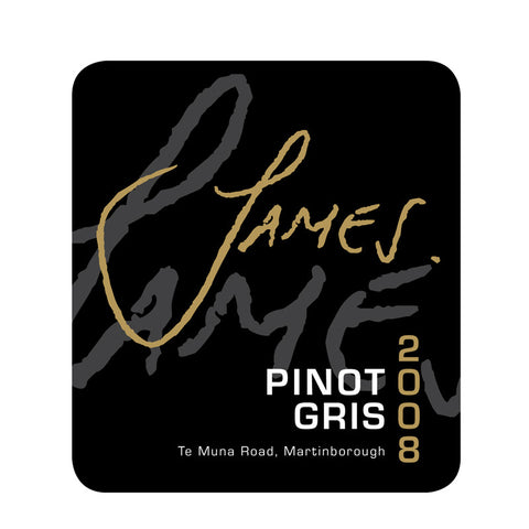 Redbank Estate 'James' Pinot Gris 2008