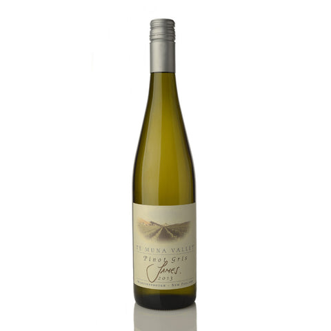 Te Muna Valley 'James' Pinot Gris 2013