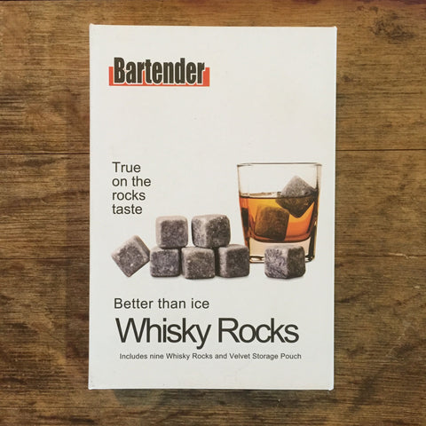 Whisky Rocks by Bartender