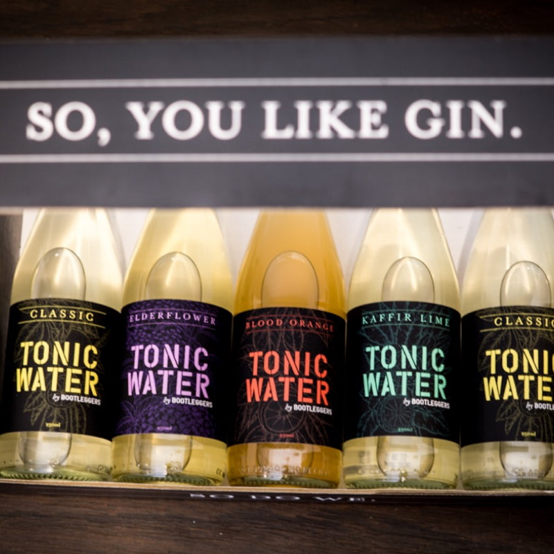 Bootleggers Tonic - Gin lovers 5 pack