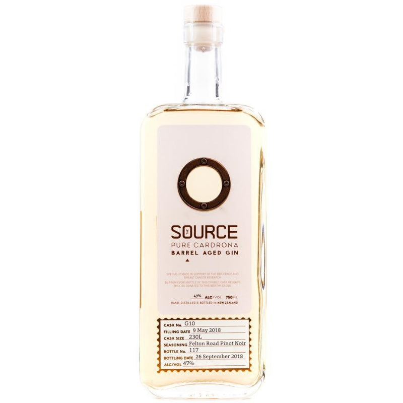 The Source Pure Cardrona  Barrel Aged Gin