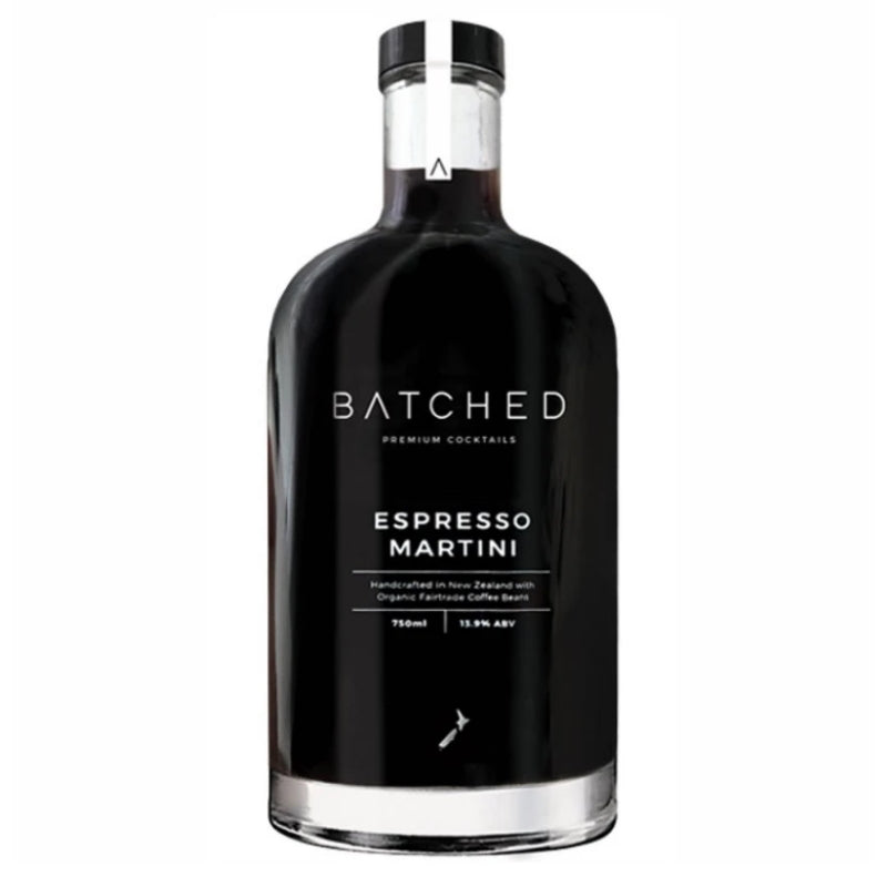 Batched Espresso Martini - With Free Martini Glass