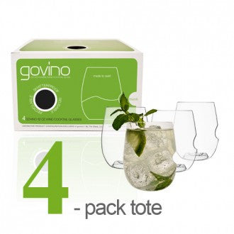 Govino White Wine/Cocktail Glass 4 Pack