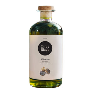 Olive Black Infused Black Garlic Oil