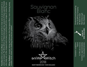 Wine Witch Sauvignon Blanc 2018