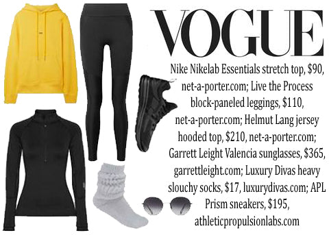 Slouch Sock Vogue Feature