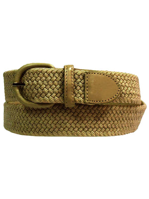Braided Elastic Stretch Belt