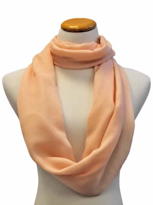 Simple Style Infinity Scarf