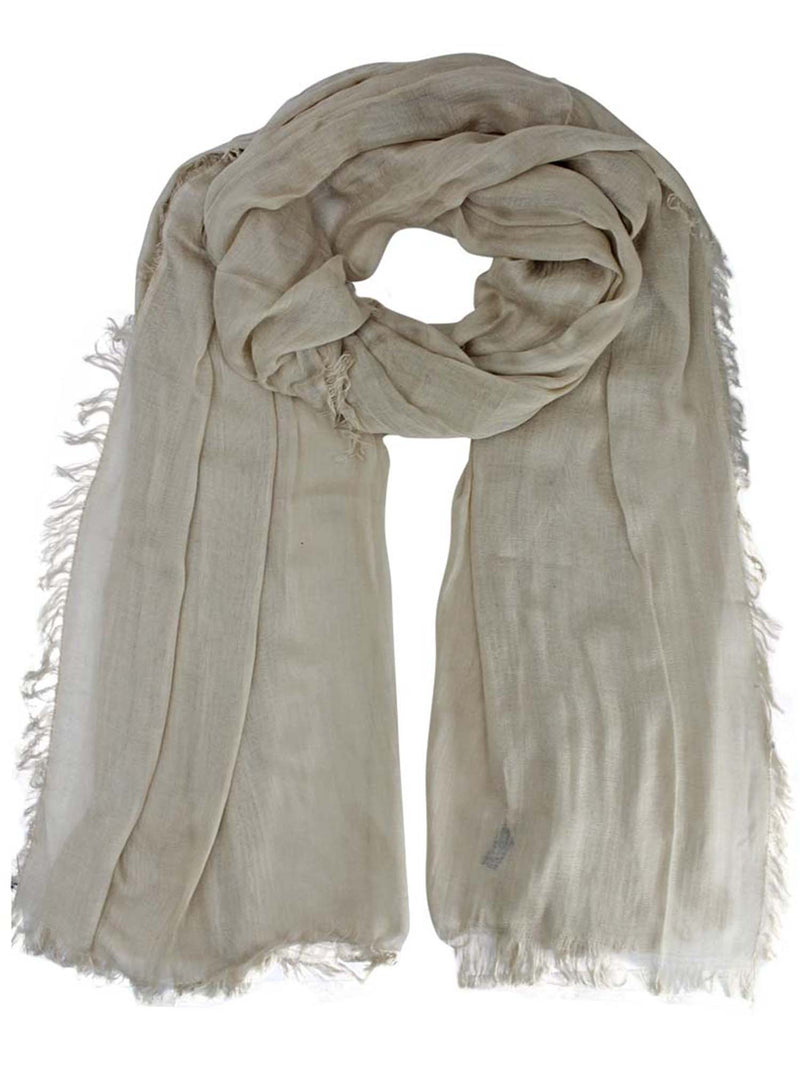 Semi Sheer Viscose Extra Long Scarf Shawl