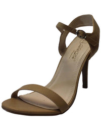 Beige Womens Open Toe High Heel Sandal Pumps