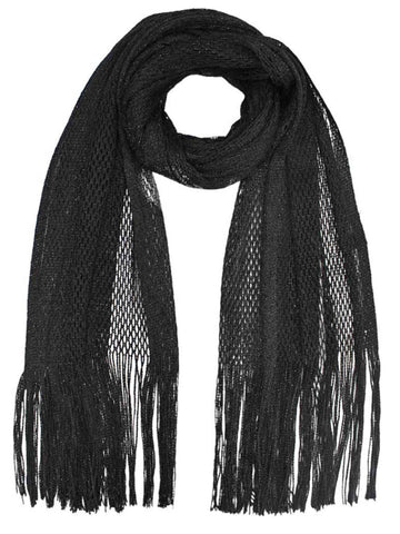 Lightweight Mesh Metallic Scarf