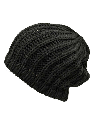 Chunky Knit Tight Beanie Cap Hat