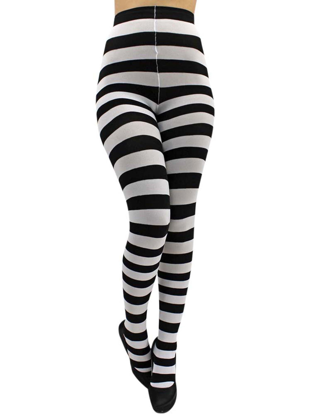 Horizontal Striped Tights
