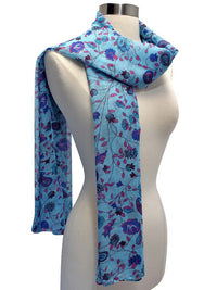 Floral Print Summer Scarf