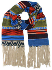 Indie Hipster Print Winter Scarf