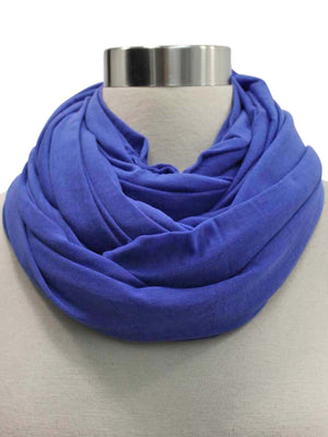Long Jersey Knit Circle Infinity Scarf