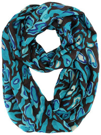 Camouflage Print Infinity Scarf