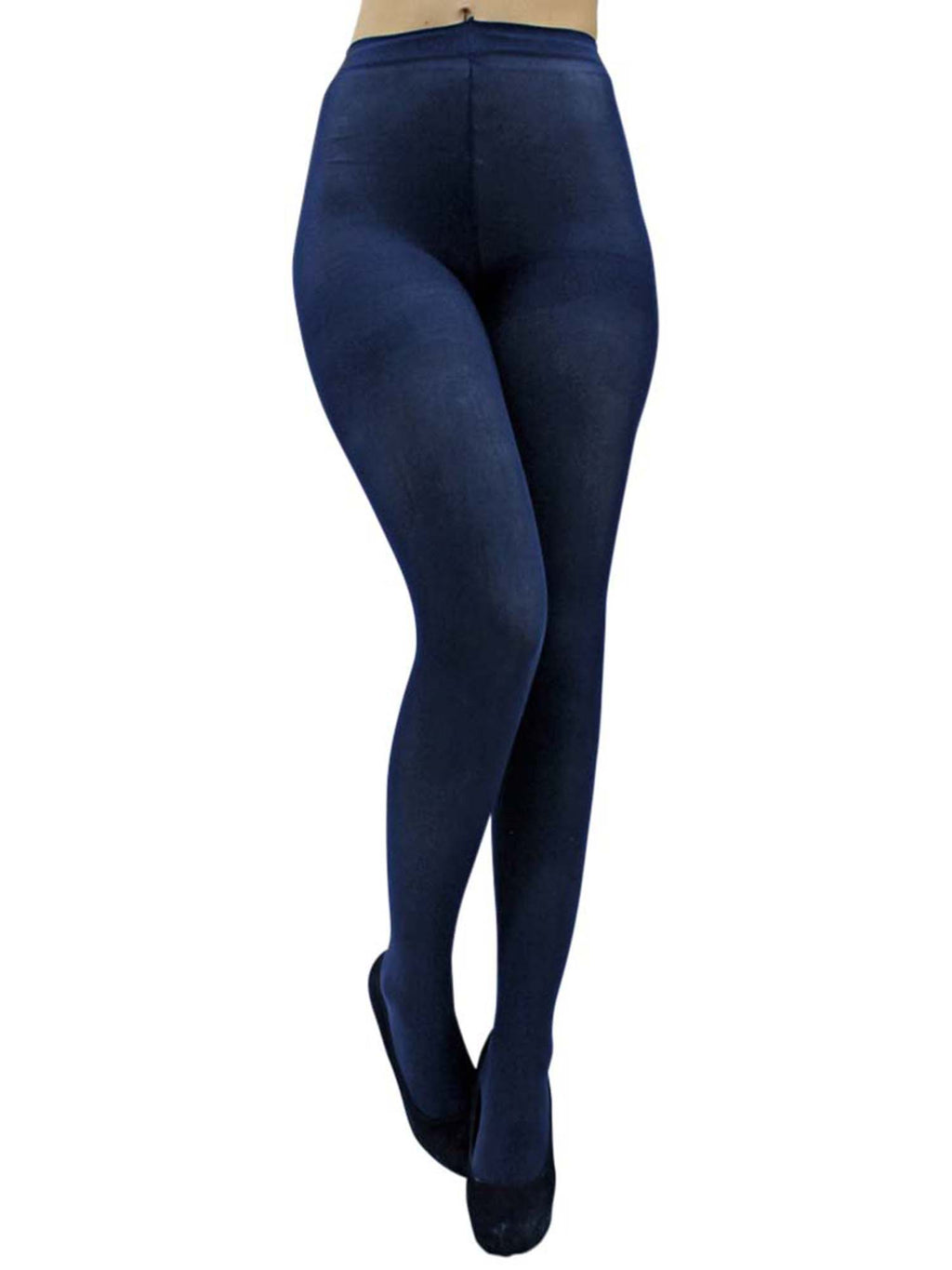 3932f8a37b8 Stretchy Opaque Pantyhose Tights