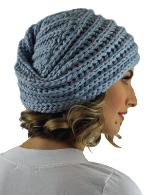Chunky Knit Acrylic Turban Head Wrap