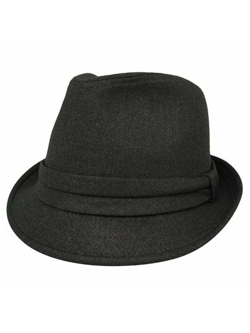 Charcoal Gray Unisex Fedora Hat