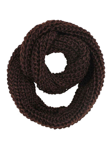 Chunky Knit Infinity Winter Scarf