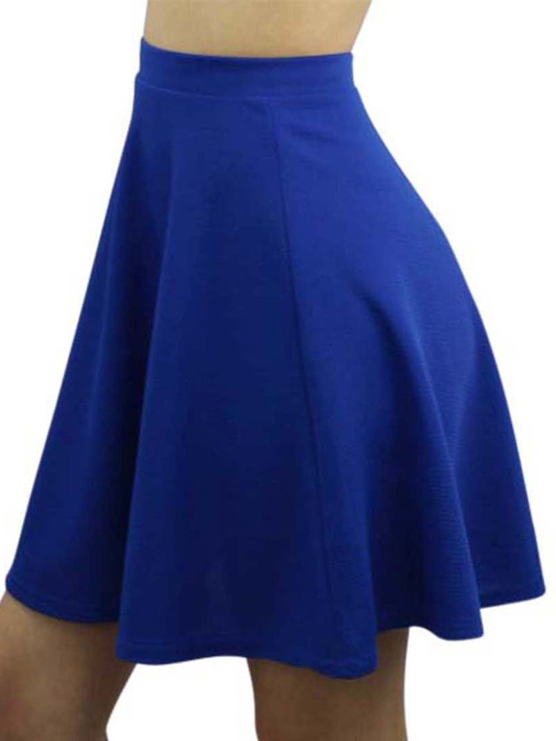 Short Flared Skater Skirt