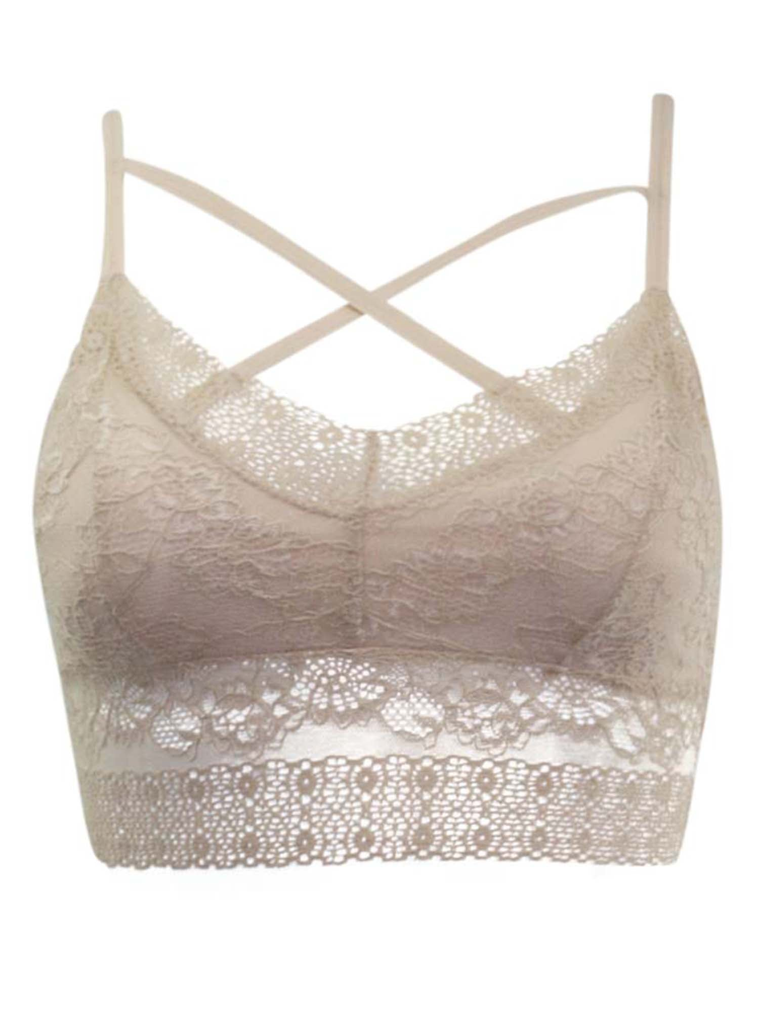 Lace Bralette With Front Detail