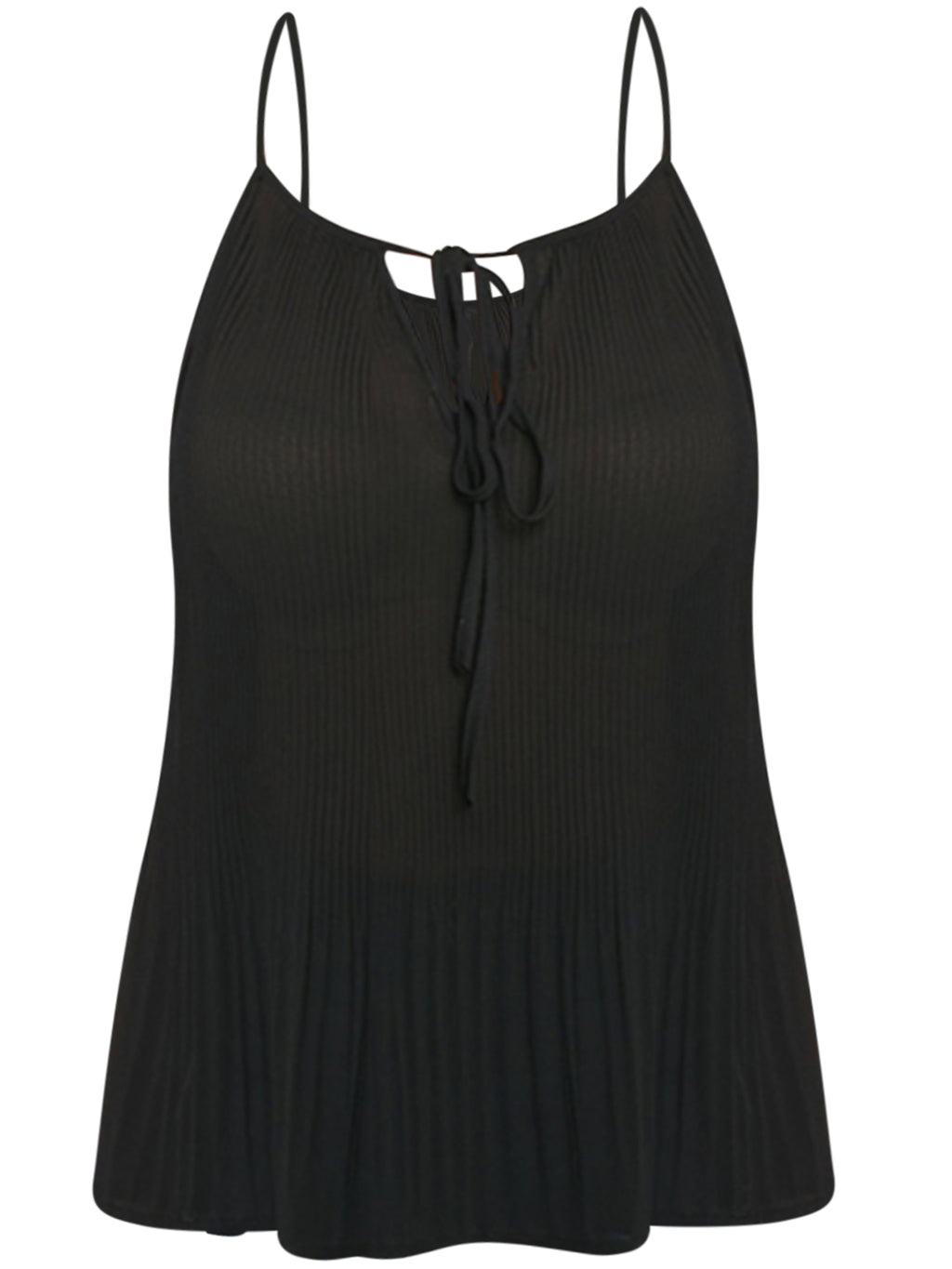 Black Plus Size Tank Top