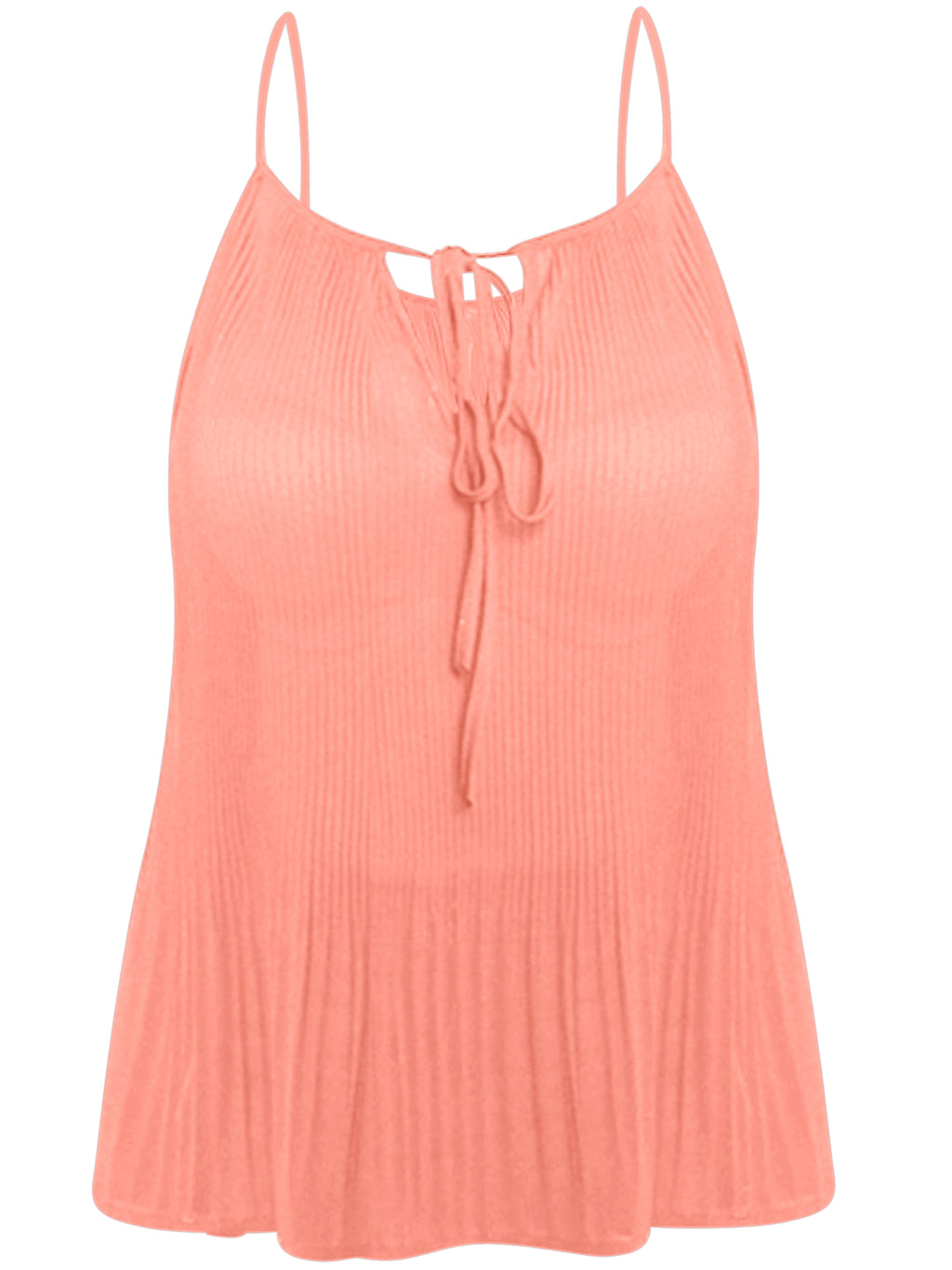 Mauve Pink Plus Size Tank Top