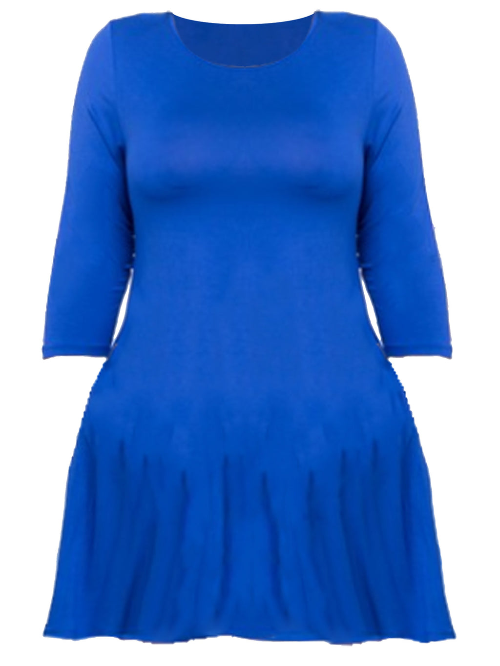 Womens Plus Size Swing Dress