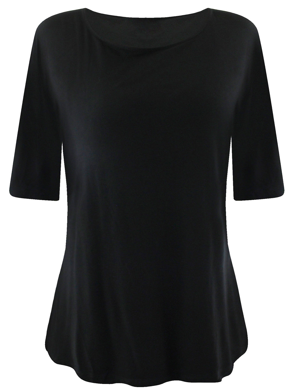 Womens Plus Size Bell Sleeve Tunic Top
