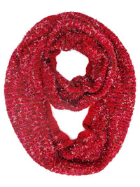 Winter Knit Multicolor Unisex Infinity Scarf