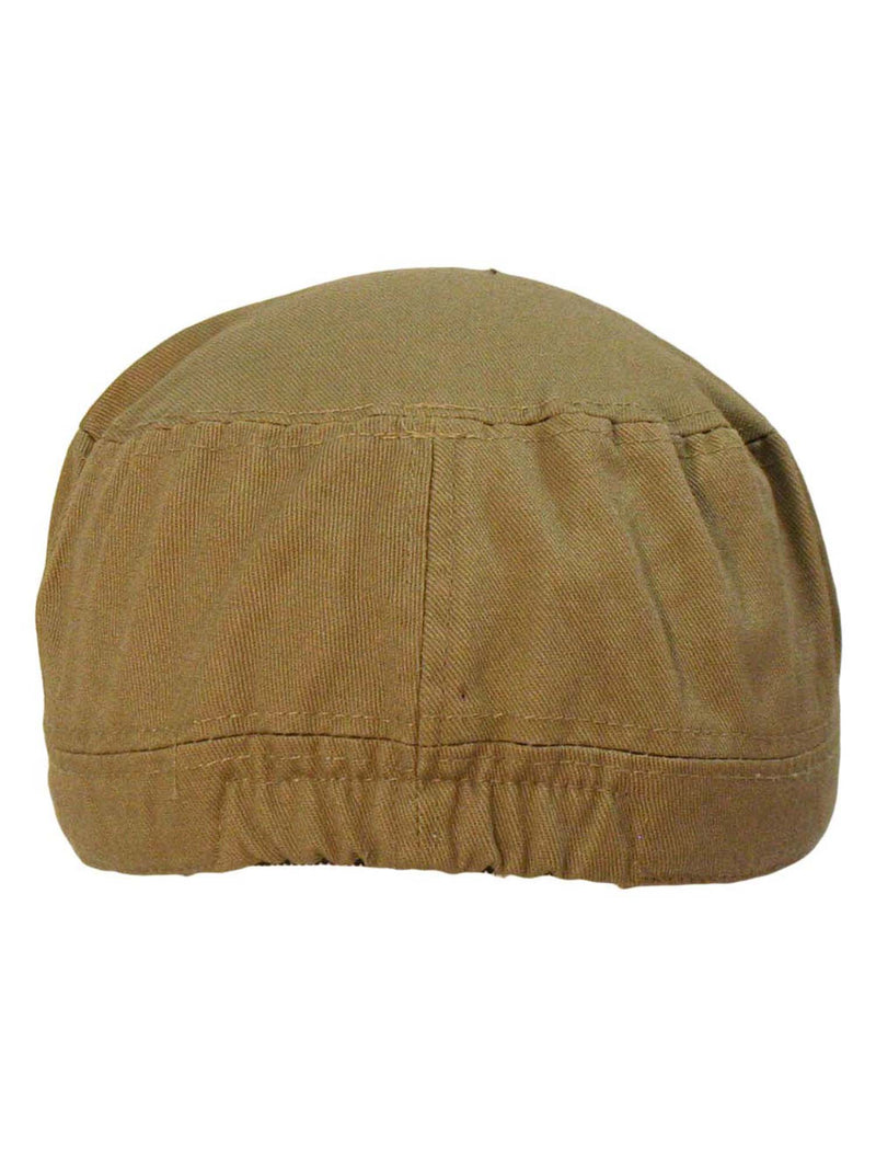 Cadet Hat Cap With Soldier Rank Patch