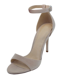 Luxe Ankle Strap Womens Sandal Pumps