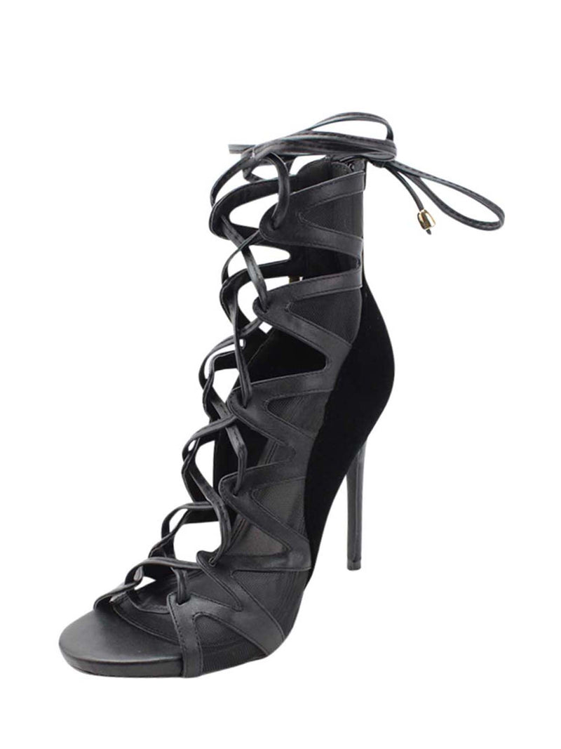 Lace-Up Heel Sandals For Women