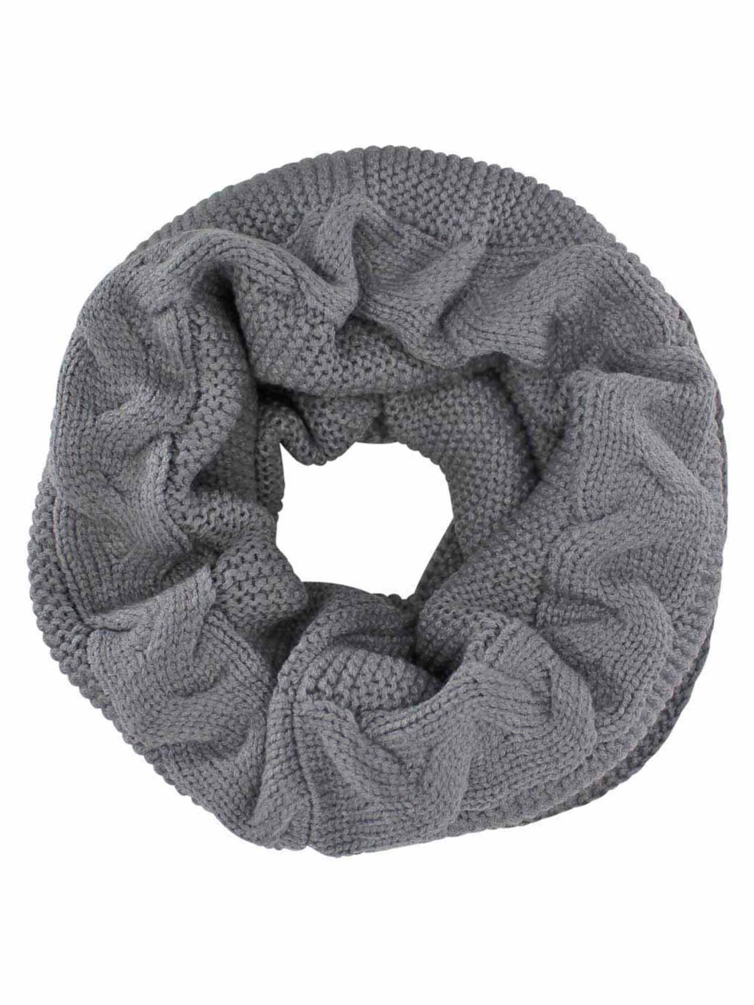 Chunky Cable Knit Winter Infinity Scarf – LD