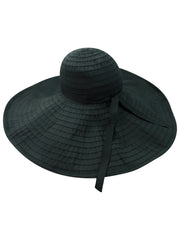 Flexible Floppy Hat With Oversized Brim