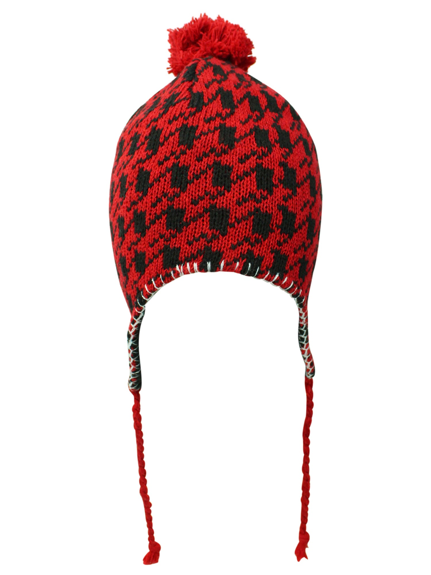 Pattern Fleece Lined Cap Hat