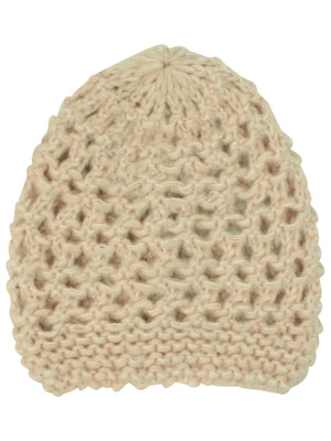 Pink Soft Stretchy Knit Beanie Cap Hat