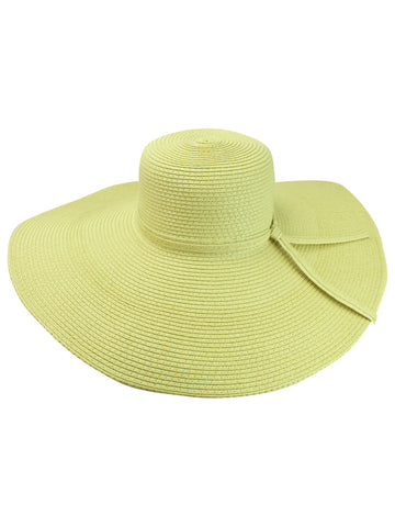 Crushable Wide Brimmed Floppy Hat
