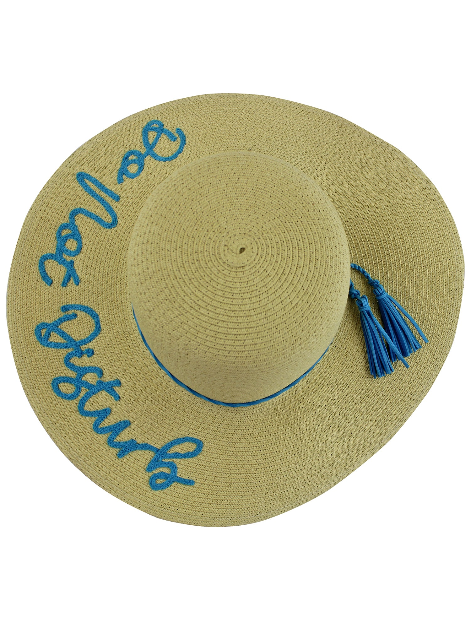 Do Not Disturb Embroidered Floppy Hat