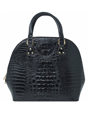 Conservative Crocodile Texture Handbag