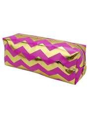 Pink & Gold Jet Set Travel Kit With Case