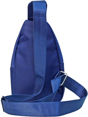 Navy Blue Crossbody Sling Bag Backpack