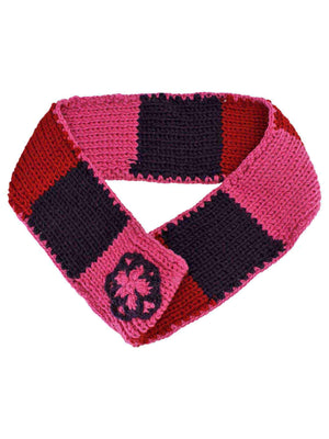 Color Block Knit Infinity Scarf
