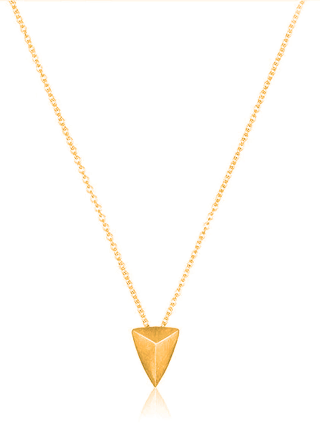 You Are Mighty Inspirational Gold Tone Necklace
