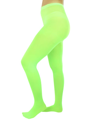 Opaque Stretchy Leotard Tights