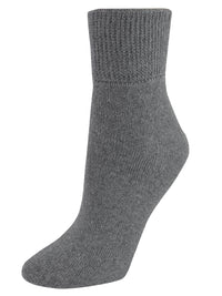 3-Pack Black White Gray Diabetic Socks