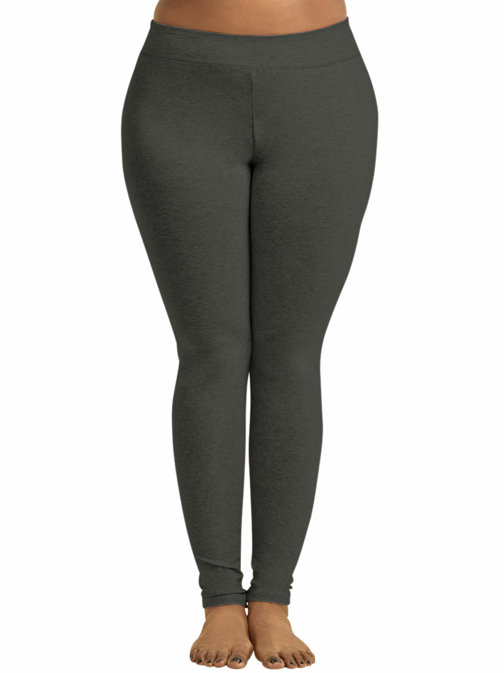 Womens Plus Size Cotton Leggings