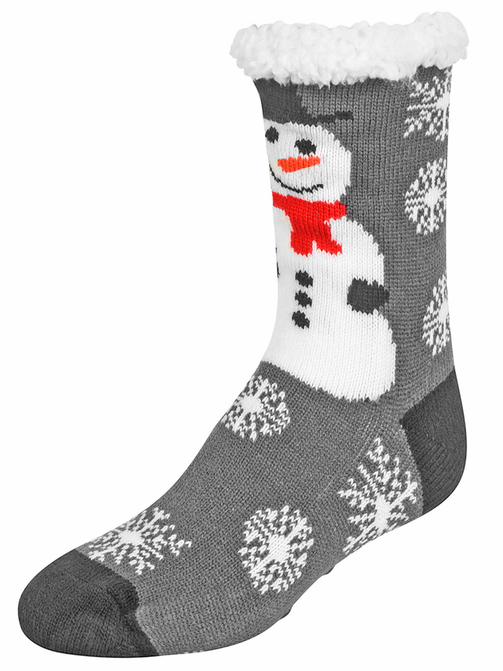 Snowman & Santa Claus 2-Pack Slipper Socks